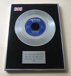 RIGHTEOUS BROTHERS - YOU'VE LOST THAT LOVIN' FEELING PLATINUM single presentation Disc
